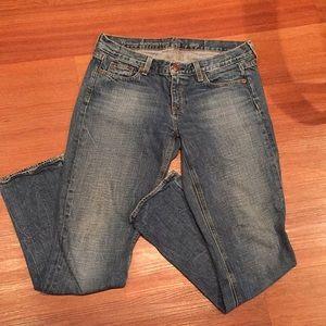 J crew vintage matchstick jeans